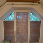 Plisy zaciągnięte - okno trapezowe