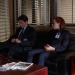 Mulder i Scully w biurze Skinnera